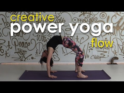 Power Yoga Workout ~ Expanding from Center