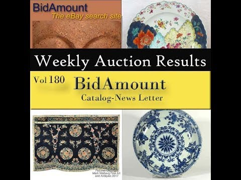 BidAmount Weekly eBay Auction Results 9/01/17 Vol 44