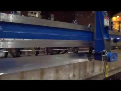 On-site Machining 20m Milling Spud Carriage