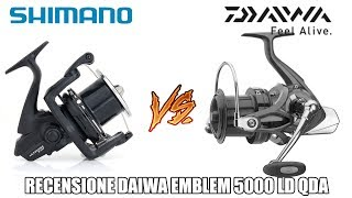 Daiwa VS Shimano - Emblem LD QDA vs Ultegra XTD - recensione Daiwa Emblem e comparativa con Ultegra