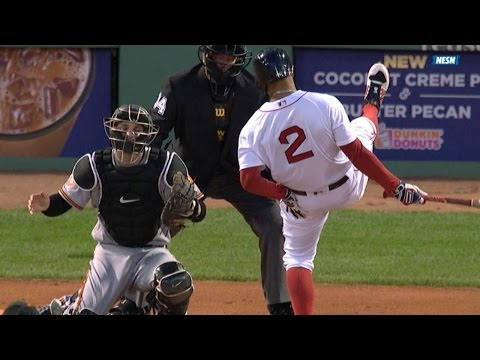 BAL@BOS: Bogaerts gets HBP, Gausman ejected in 2nd