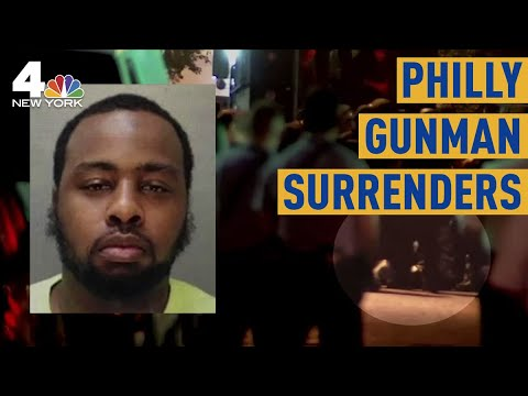 Man Accused of Shooting 6 Philadelphia Cops Surrenders After Seven-Hour Standoff | NBC New York