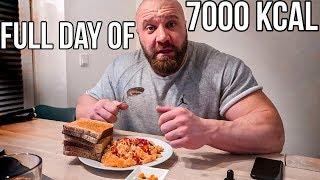 Meine täglichen 7000 Kcal! Full Day Of Eating