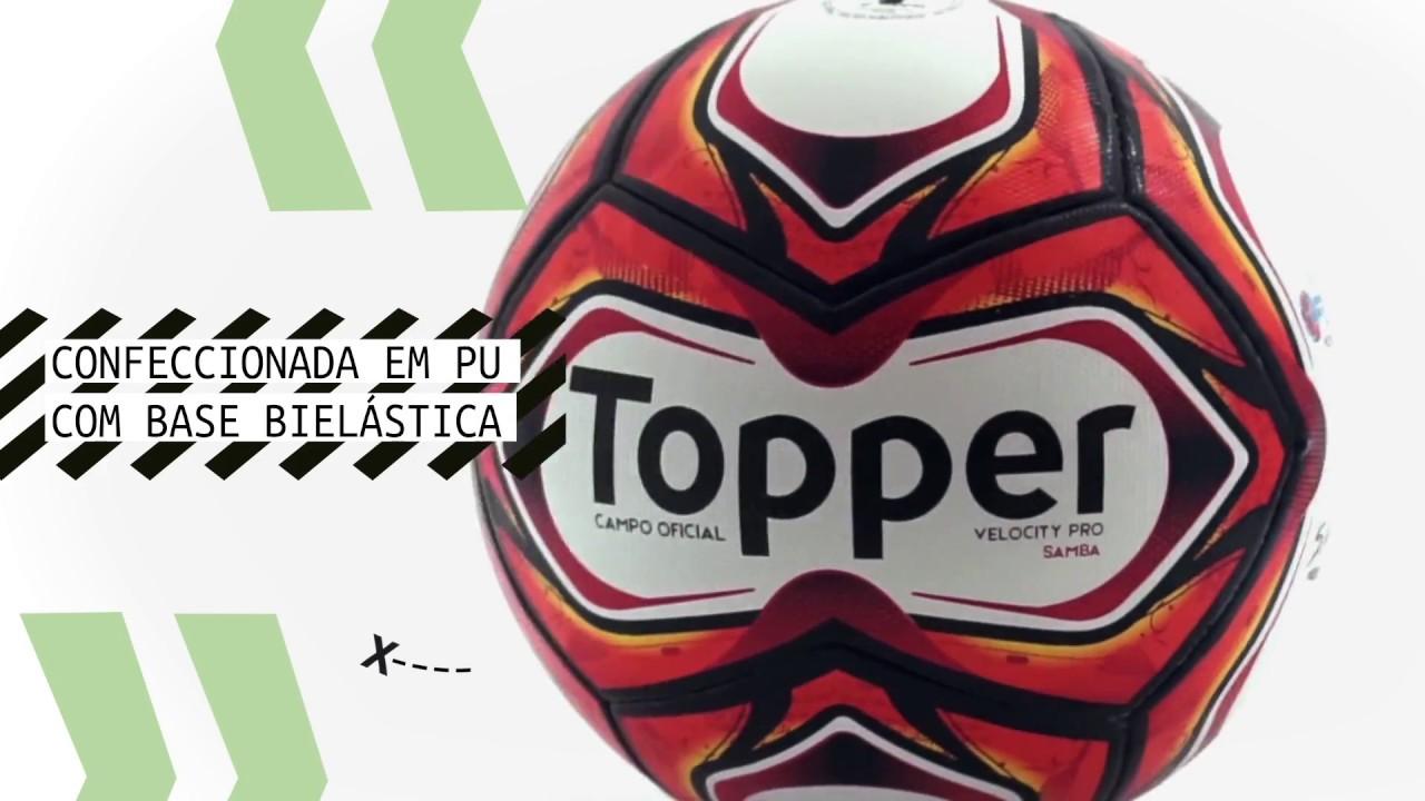 cbe2b15dd3 Nova Bola Samba para o Campeonato Carioca 2018. Topper Brasil