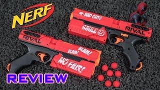 [REVIEW] Nerf Rival Deadpool Kronos XVIII-500 | RIVAL PISTOL!
