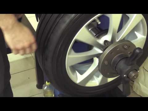 Как сделать балансировку колес