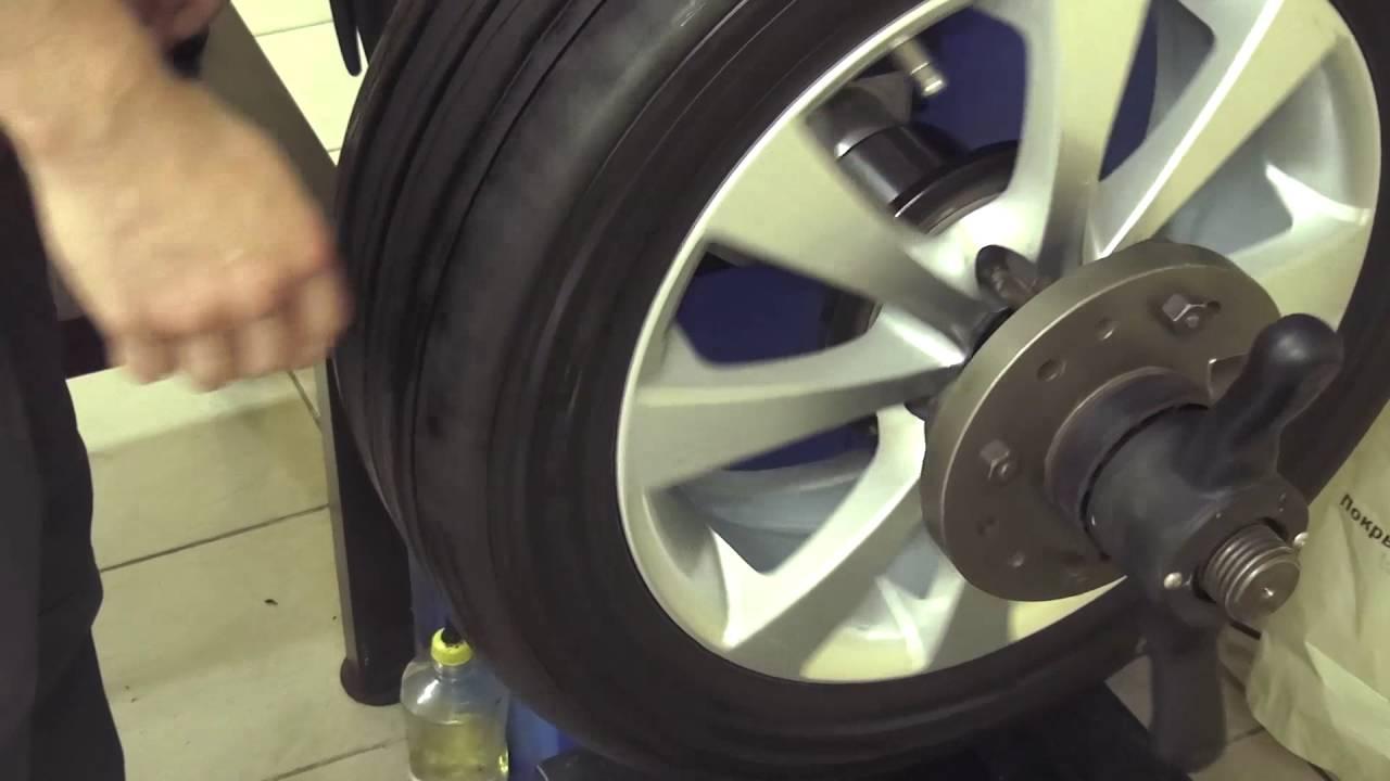 Обучающее видео: Как отбалансировать колесо автомобиля