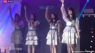 bnk48 kimi wa melody first live