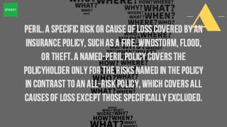 What Is The Definition Of Peril In Insurance?