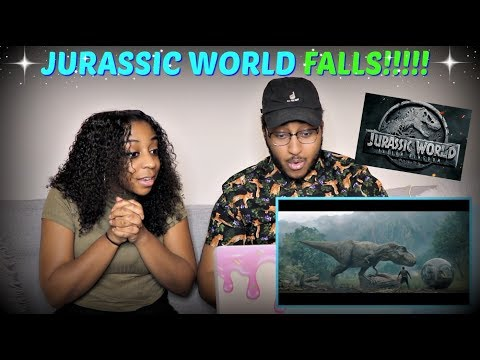 Download Youtube: Jurassic World: Fallen Kingdom - Official Trailer REACTION!!!