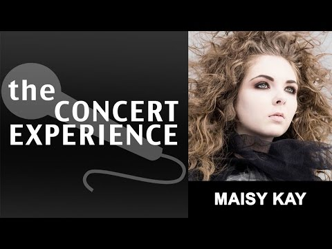 Maisy Kay Interview   AfterBuzz TV's Concert Experience