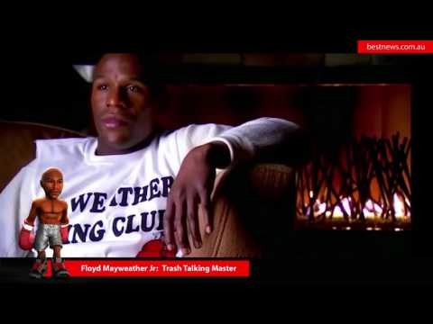 Floyd Mayweather Jr : A master lesson in trash talking - Schooled - How to Troll.