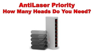 ALP Setup: How Many Heads Do You Need for Your AntiLaser Priority Laser Jammer?