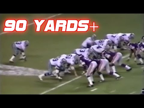 Longest Runs in NFL History (90+ yards)