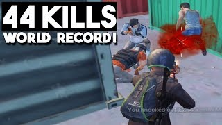 Download NEW WORLD RECORD!!! | 44 KILLS Duo vs Squad | PUBG Mobile Mp3 and Videos
