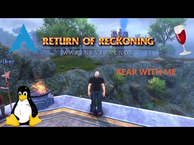 Warhammer Online: Return of Reckoning - Bear with Me, April fools Questline | Linux