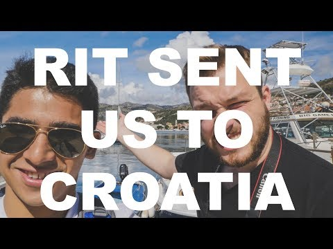 Our college sent us to their Croatia campus