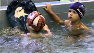 Детский сад «Жемчужинка» - занятия плаванием, бассейн(Видео детского сада