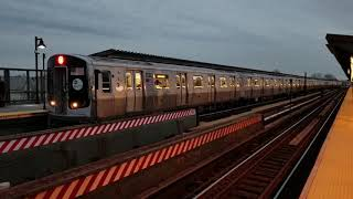 MTA NYC Subway: First Day in Passenger Service On The R179 (A) Train