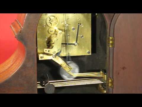 Seth Thomas Bugle Chime No. 90 Tambour Mantel Clock