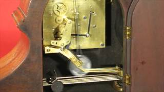 Seth Thomas Bugle Chime No. 90 Tambour Mantel Clock