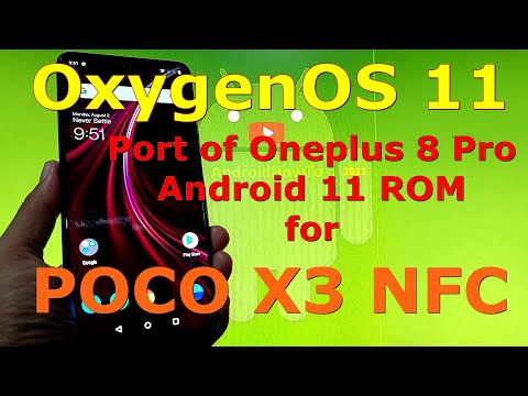 OxygenOS 11 ROM for Poco X3 NFC (Surya) Android 11