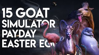 Goat Simulator Payday - 15 Easter Eggs, Secrets & References