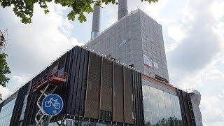 Baustellenbesuch: KARE Kraftwerk 2 Monate vor der Eröffnung