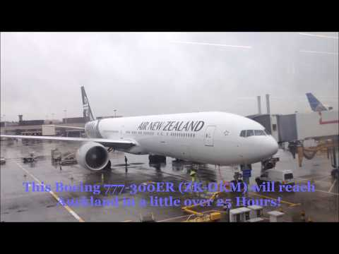 Air New Zealand B77W Experience: NZ1 London ✈ Los Angeles