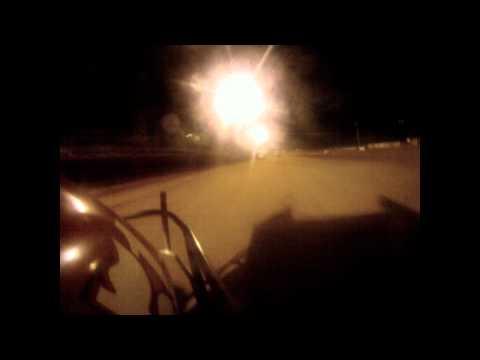 OCRS Oklahoma Sports Park Sprint Car 'B' Feature 09-18-2010 - Beau Gastineau