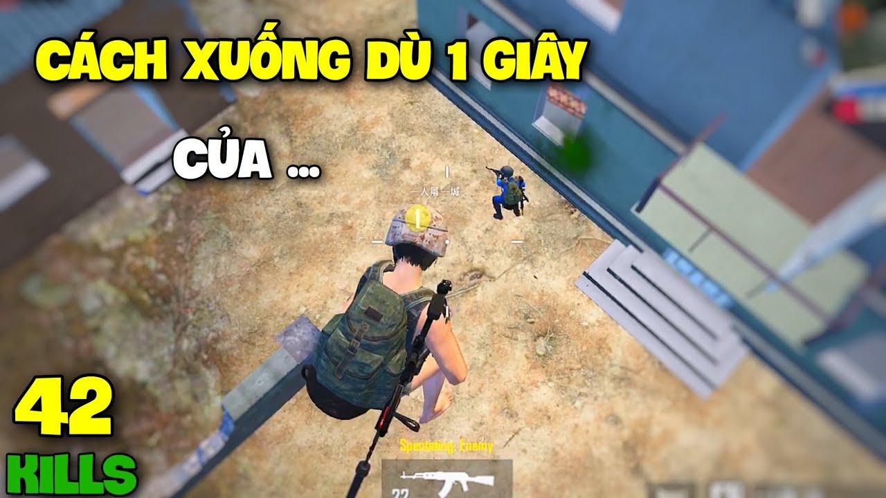 PUBG Mobile | Cách Xuống Dù Siêu Nhanh Của Hack | Solo Vs Squad 42 Kills | Karos TV