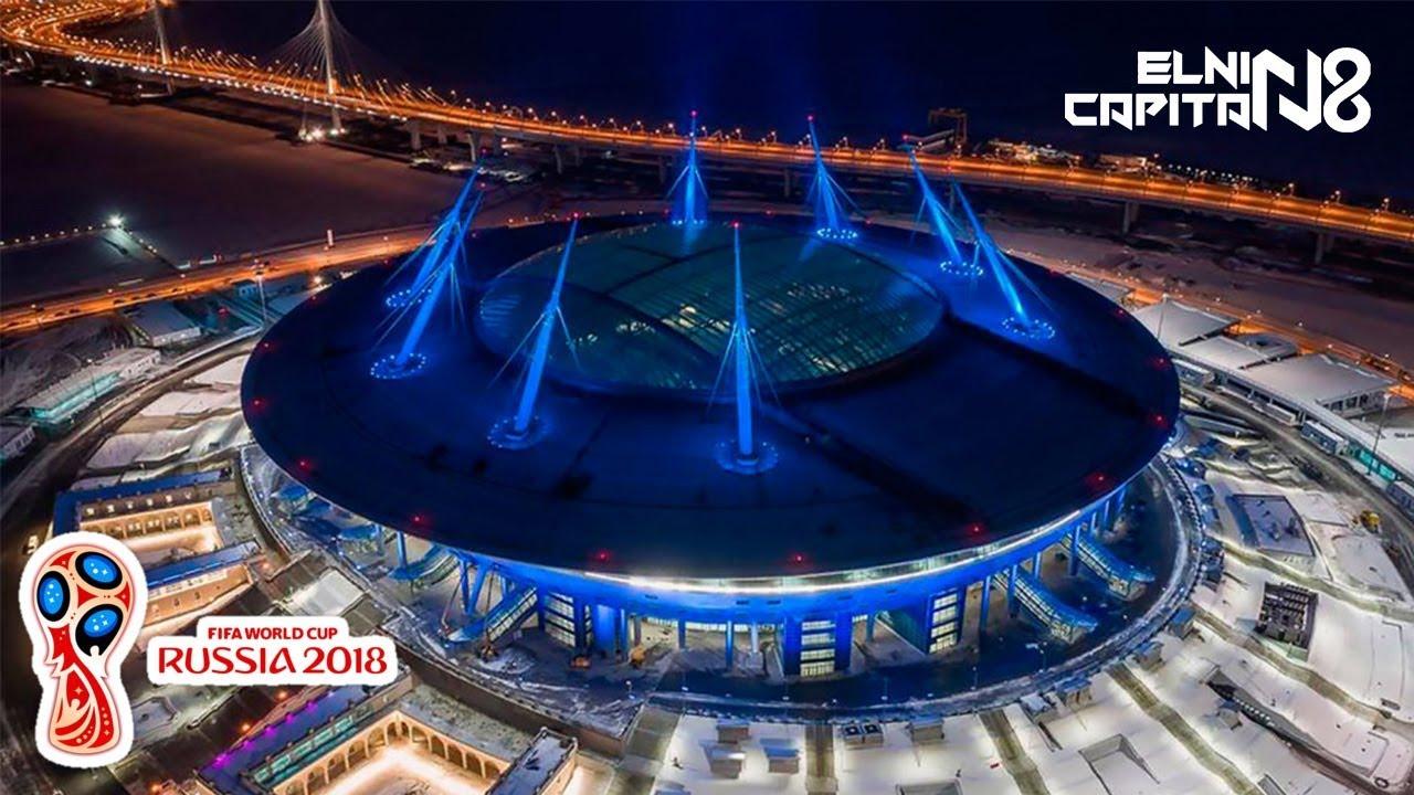 WOW EMEZING BANGET... Inilah Stadion Piala Dunia 2018