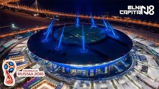 WOW EMEZING BANGET... Inilah Stadion Piala Dunia 2018 Rusia Termegah Dalam Sepak Bola
