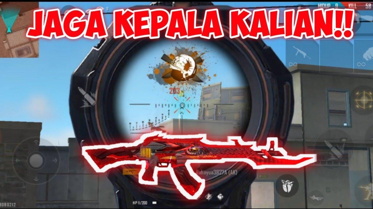 COBAIN TRAINING PAKE SENJATA AK-47