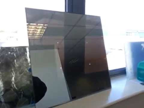 Switchable Glass And Led Display Privacy Mirror One Way