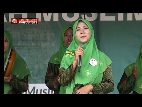 Sholawat Merdu Ibu Syantik Muslimat Nu Dharmasraya Sumatera Barat