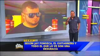 JAY FONSECA LLAMA DESGRACIADOS AL GUITARREÑO Y SU AUDIENCIA