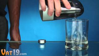 Water-powered Digital Alarm Clock