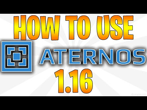 HOW TO USE ATERNOS FOR MINECRAFT!