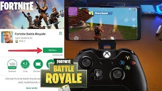 FORTNITE ANDROID IS REALTY !!! An APP WITH ALL DEVICES!!!