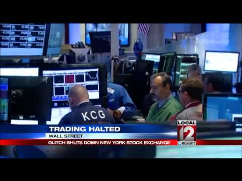 NYSE shutdown upends already tough day for markets