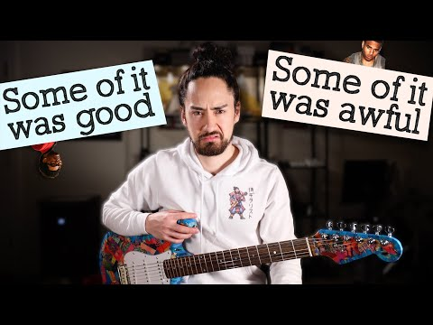Guitarist Reacts to Today's Biggest Pop Songs