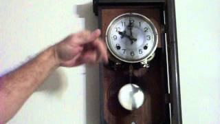 Antique Japanese Wall Clock