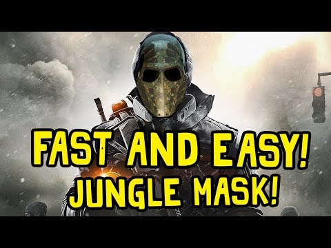 FASTEST JUNGLE MASK FARMING METHOD! HOW TO GET IT FAST! - The Division 1.8 Global Event Strike Event