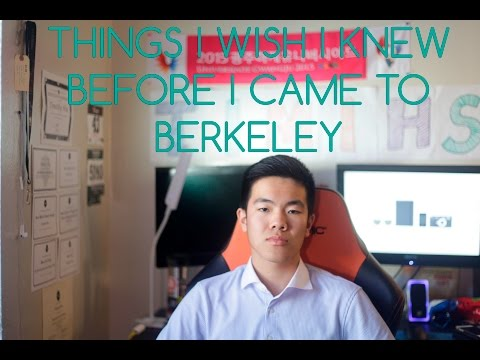 Vlog#24: Things I wish I knew Before I Came to Berkeley