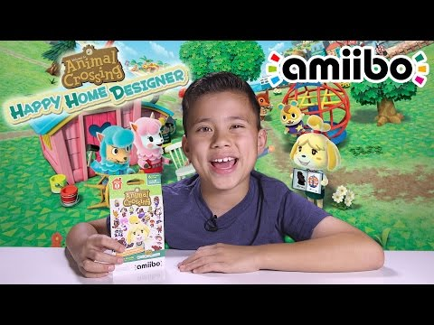 Animal Crossing HAPPY HOME DESIGNER!! amiibo card action on the Nintendo 3DS!