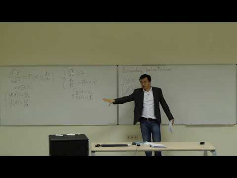Computational Physics Lecture 25, Boundary-Value Problem for ODEs