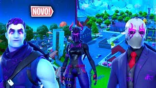 I PLAYED WITH THE NEW DARK PACK IN THE NEW GREASY GROVE! Fortnite.. !