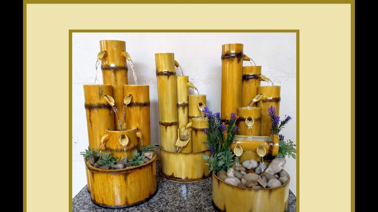 Fonte Em Tubo PVC Decorative Fountain PVC Pipe