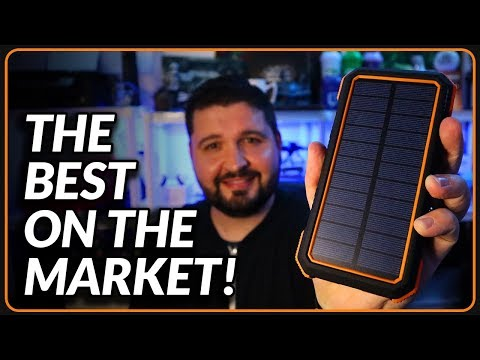 the-best-solar-charger-power-bank-review-2019!